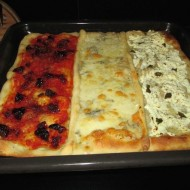 Pizza: tres ingredientes en uno